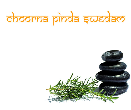 ayurveda treatment choorna pinda swedam