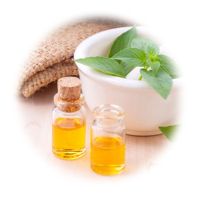 Oils used in ayurveda treatments