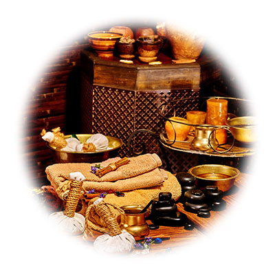 Tools used in Ayurvedic treatments
