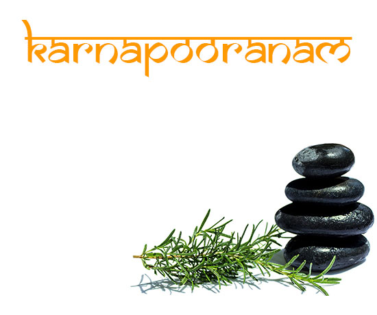 ayurveda treatment karnapooranam