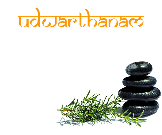 ayurveda treatment udwarthanam